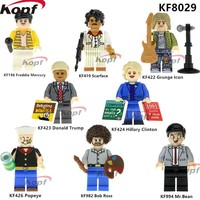 Custom Minifigures for LEGO Play Donald Trump Blocks