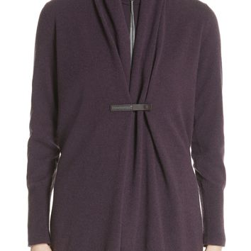 Fabiana Filippi Shawl Collar Wool Blend Cardigan | Nordstrom