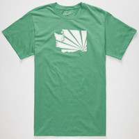 Casual Industrees Wa Brah Mens T-Shirt Heather Green  In Sizes