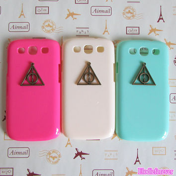 70% OFF On Sale,Deathly Hallow, Samsung Galaxy i9300 case,Samsung Galaxy s3 case,Samsung Galaxy cover,Samsung Galaxy skin