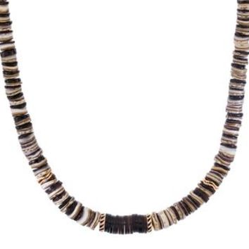 Classic Conchas Coconut Shell Puka Necklace