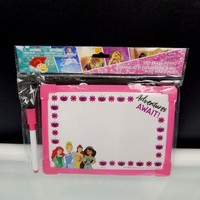 Disney Princess Dry Erase Whiteboard For Kids 2 Sided Loop Marker Party Favors
