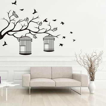 Decorative Wall Stickers - Plane Wall Stickers Animals Shapes Botanical Living Room Bedroom Bathroom Kitchen Dining Room Study Room /