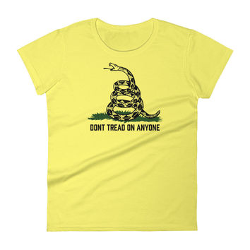 Don't Tread On Anybody Ladies T-Shirt