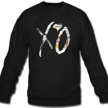 xo the weeknd crewneck sweatshirt