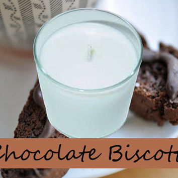 Chocolate Biscotti Scented Candle in Tumbler 13 oz