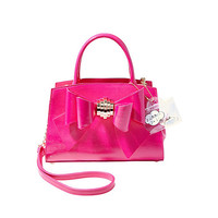 BOW YOU SEE IT REMOVABLE BOW SATCHEL: Betsey Johnson
