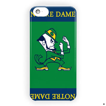 Notre Dame Fighting Irish Football Basketball For iPhone 5 / 5S / 5C Case