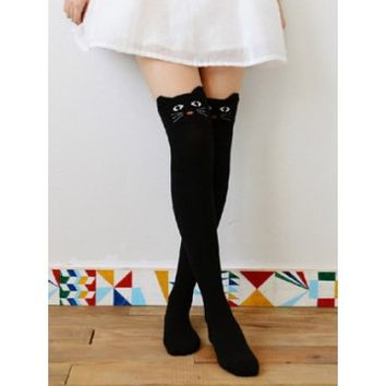 Cute Neko Knee High Socks