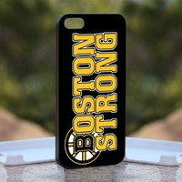Boston Strong Black Marathon - Design available for iPhone 5 Case