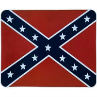 Rebel Flag Soft Fleece Blanket