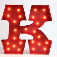 UrbanOutfitters.com > Marquee Alphabet Lights