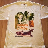 Band Of Outsiders Bande à part 1964 Jean-Luc Godard French New Wave Film T Shirt
