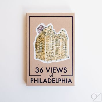 36 Views of Philadelphia Postcard Book
