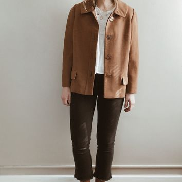 Vintage 1970's Coin Button Jacket