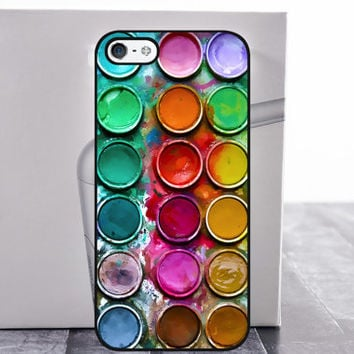 Moto X case color palette cover for moto motorola x g e 2nd generation google nexus 6 watercolor1