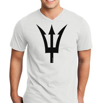 Trident of Poseidon Adult V-Neck T-shirt by TooLoud