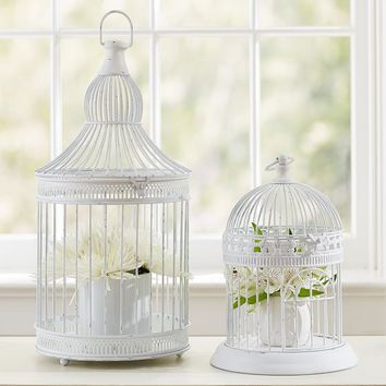 Birdcage Candle Holders