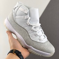 "Air Jordan 11 Retro ""Metallic Silver"" Men Sneaker - Best Deal Online"