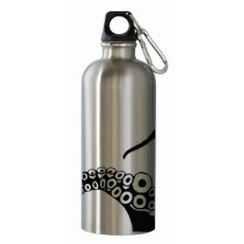 Octopus Tentacle Water Bottle Decal