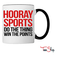 Hooray Sports! Coffee & Tea Mug