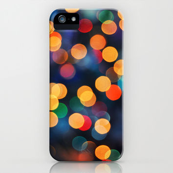 Festive Lights iPhone & iPod Case by Lisa Argyropoulos