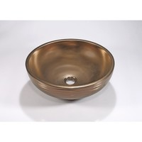 Legion Furniture ZA-228 Porcelain Sink Bowl In Antique Bronze
