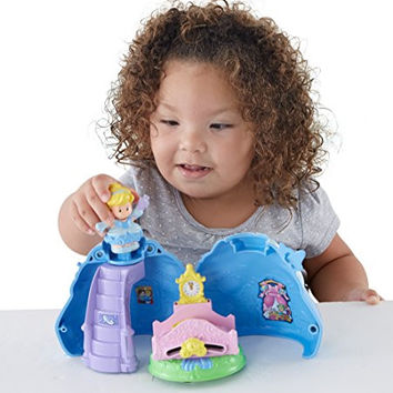 Fisher-Price Disney Princess Cinderella's Magical Dress by Little People
