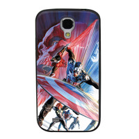 Captain America The First Avenger TPU Soft Shell Jelly Silicone Case for Samsung Galaxy S4