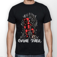 Deadpool vs Game of Thrones Custom T Shirt Man Harajuku