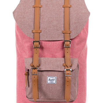 Herschel Supply Co. - Little America Backpack (Rust Crosshatch)