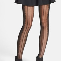 Junior Women's BP. Scallop Tights