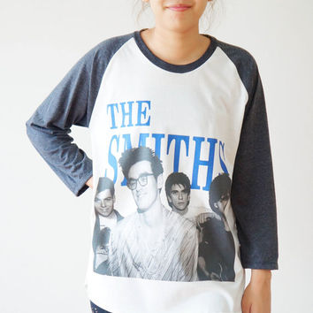 SML  The Smiths TShirts Morrissey Shirts by cottonclick on Etsy