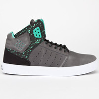 Supra Atom Mens Shoes Grey/Black/White  In Sizes