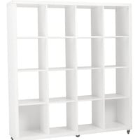 Eurostyle Saul 4X4 Shelving Unit (Multiple Colors)