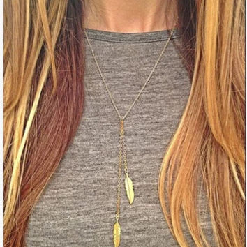 Gold Fatima Hammer Chain Hamsa Moon Lariat Bar Necklace Long Strip Pendant Necklace Collar joyeria collier Women