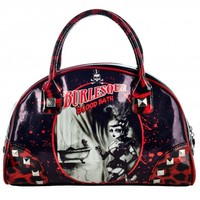 Too Fast Burlesque Bloodbath Handbag | Rockabilly Pin Up Gothic