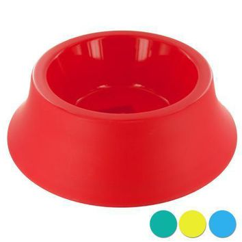 Classic Design Large Size Round Plastic Pet Bowl Set of 12 Pack