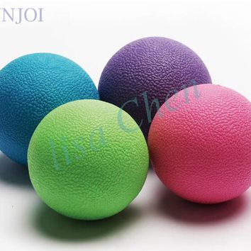 65mm Massage lacrosse ball for feet back hands Therapy trigger point body Yoga Release muscle fatigue crossfit solid