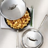 All-Clad d5 Stainless-Steel Nonstick Covered Fry Pan