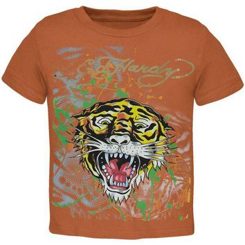 ONETOW Ed Hardy - Golden Tiger Juvy T-Shirt