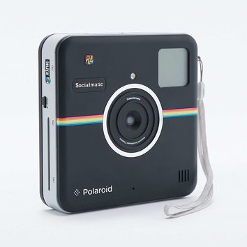 Polaroid Socialmatic Black Camera - Urban Outfitters