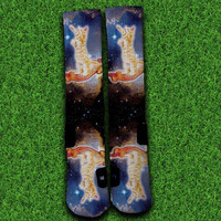 Bacon Cat Socks,Custom socks,Personalized socks,Elite socks