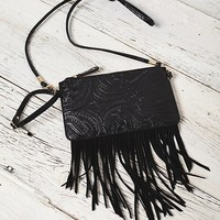 Free People Tooled Wallet