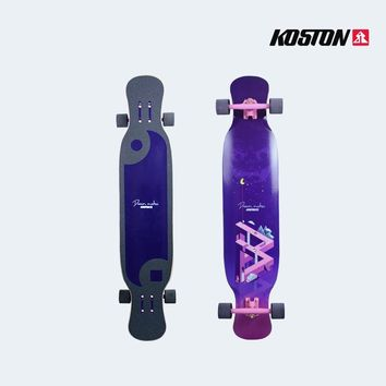 Koston 44.88 Inch Futuristic Professional Long Board Deck/Complete
