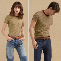 1960's Casuals Striped T-Shirt