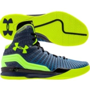 Under Armour Men's ClutchFit Lightning Basketball Shoe - Black/White | DICK'S Sporting Goods