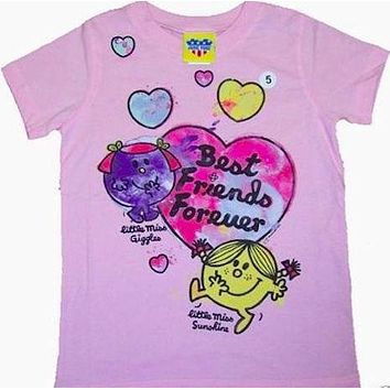 Girls Junk Food Little Miss Best Friends Forever T-Shirt