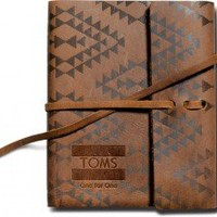 Printed Leather Journal