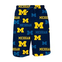 College Concepts Michigan Wolverines Insider Knit Shorts